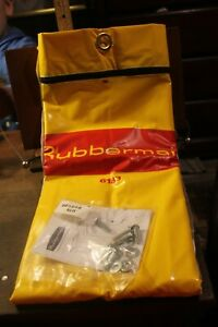 Replacement Bag For Rubbermaid Janitor Cart 6183 Approx 17 X 9 X 28