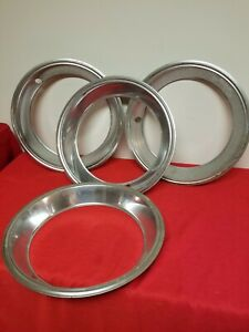 Four 1970 s Chevy Pickup Truck Trim Beauty Rings
