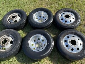 16in Obs Ford F350 Alcoa Dually Wheels 6 8x6 5 Ford 7 3 Diesel Rare Forged