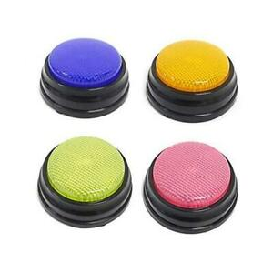 Answer Buzzers Voice Recorder Button Recordable Talking Button With Led