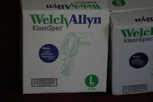 Welch Allyn Kleenspec Vaginal Speculum Box Of 15 59000 59004 9 Small 6 Large