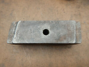 Large Metal Lathe Accessory Cast Iron Clamp Plate Bar W1027 Possible Monarch