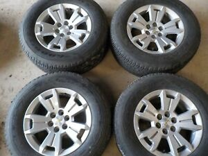 2015 16 17 18 2019 Chevy Colorado 17x8 Factory Wheels 6x120 And 255 65r17 Tires
