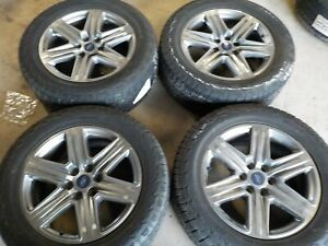 2015 19 2020 Ford F150 20x8 5 Factory Wheels 6x135 And Hankook 275 55r20 Tires