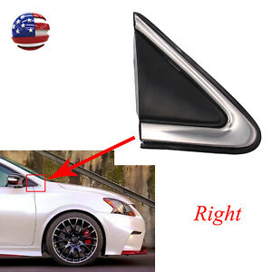 Front Right Fender Trim mirror Finisher Fit For 13 19 Nissan Sentra 96318 3sg0a