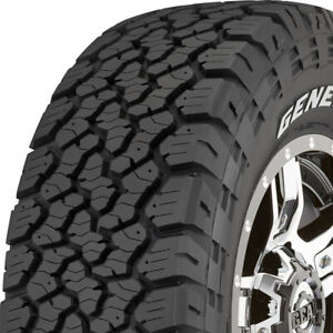 4 New 35x12 50r17lt E 10 Ply General Grabber Atx 35x1250 17 Tires