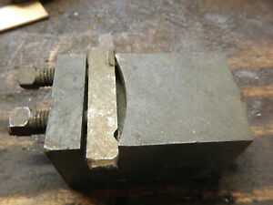 Older Metal Lathe Tool Holder Machinist Tool