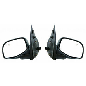For Ford Explorer Door Mirror 2002 2005 Pair Rh And Lh Power Heated Textured