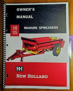 New Holland 210 325 Manure Spreader Owner Operator Manual O210 325 3m 3 63w 3 63