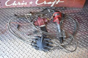 Vintage Chevy Small Block Ignition Mallory Yd Distributor Flash fire Coil