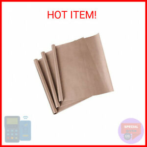 3 Pack Ptfe Teflon Sheet For Heat Press Transfer Sheet Non Stick 16 X 20 He