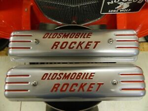 1953 oldsmobile Rocket Valve Covers refurbished