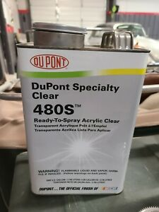 Dupont Specialty Clear 480s