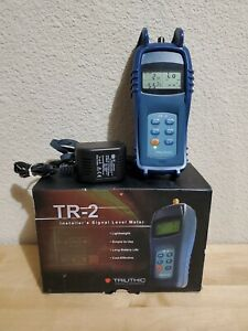 Excellent Genuine Trilithic Tr 2 Cable Signal Level Meter Box Ac Adapter Tested