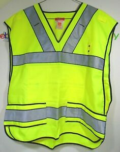 5 11 Safety Vest Tactical Ansi Reflective Construction Ems Fire Law High Visible
