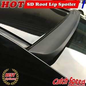 Flat Black 194 Sd Style Rear Roof Spoiler Wing For 2011 15 Cadillac Cts v Coupe