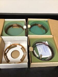 Assorted Lot Of 4 High Resolution Gas Chromatography Column