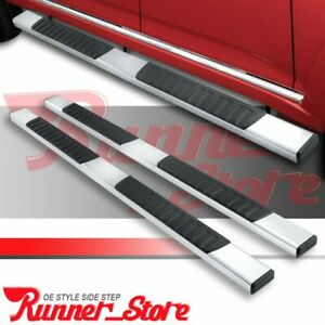 For 09 17 Chevy Traversegmc Acadia Running Board 5 Nerf Bar Side Step Ss