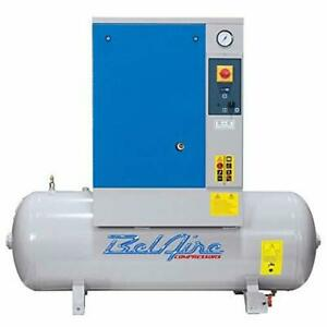 Belaire Br7 5 Tm 1 7 5hp 60 Gal 230v 1ph Fixed Speed Rotary Air Compressor 21cfm