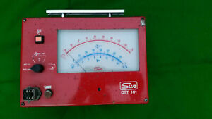 Sun Tester Qst 101 Tuning Diagnostic Meter Gauge With Connection Leads