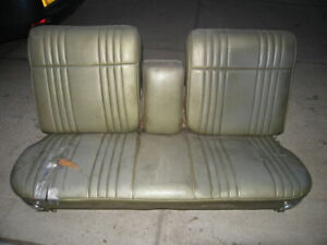 Vintage 1960s 1970s Gm Split Bench Power Seat Cadillac Buick Chevy Olds Pontiac