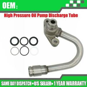 High Pressure Oil Pump Hpop Discharge Tube For 2003 2004 Ford 6 0 Powerstroke