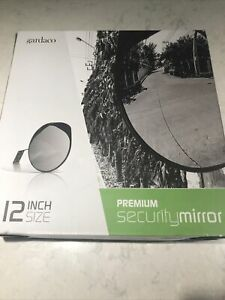 12 Inch Convex Mirror In Or Outdoor Wide Angle View Traffic Safety Security