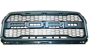 Raptor Truck Grille W O Front Camera Without Marker Lamps Front Upper Oem Grill