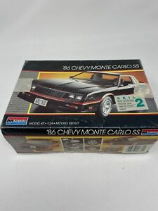 Parts Only 1986 Chevy Monte Carlo Ss Model Car Kit 2731