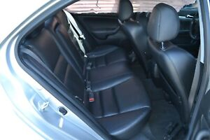 2006 Acura Tsx Rear Black Leather Seat Set Assembly 06 08 Oem