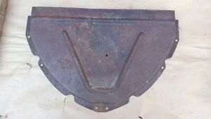 1941 1946 Chevy Truck Upper Grille Baffle Pan Original Gm Top Cover