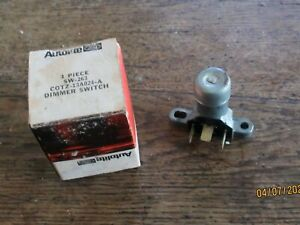 1960 1979 Ford Autolite Galaxie Fairlane Falcon Nos Dimmer Switch C0tz 13a024 a