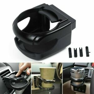 Universal Clip On Mount Holder For Car Van Air Vent Holds Bottle Can Drink Cup