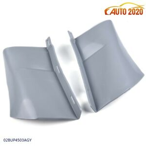 For Chevy Chevrolet Caprice impala Gray Rear Bumper 1 4 Panel Fillers 1986 1990