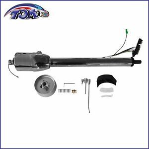 Chrome Stainless 28 Automatic Tilt Steering Column Shift With Wheel Adapter
