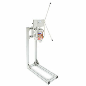 3l 110 V Commercial Manual Spanish Churros Machine W Working Stand 5 Models