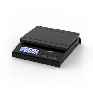 30kg 1g Digital Packaging Shipping Postal Scale Weight Postage W Adapter Black