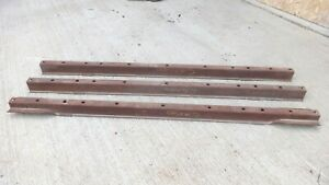 1955 1956 1957 1958 Chevy Cameo Bed Cross Braces Sills Original Gm Set3 Stepside