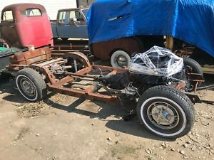 1963 63 Chevrolet Corvette Rolling Frame Chassis Gm Used