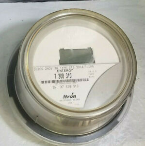 Centron Itron Lcd Watthour Electric Meter Type C1s Cl200 240v 3w Fm2s 30ta