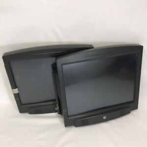 Lot Of 2 Ncr Pos Terminal Lcd Touch Screen Monitor 8902