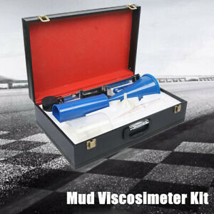 Mud Hydrometer Viscosimeter Sand Content Kit Slurry Sand Test Set Lab Equipment