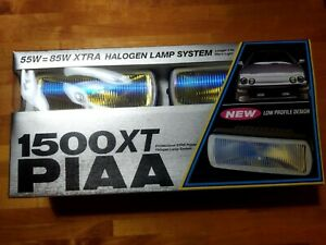 Piaa 1500xt Halogen Fog Light Lamp Kit 1551 Retro Atv Utv Suv Off Road Camper