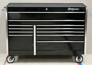 Snap On Krl722bpc 54 11 Drawer Double Bank Gloss Black Masters Series Roll Cab