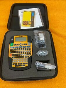 Brand New Dymo 1835374 Rhino 4200 Industrial All purpose Labeling Tool With Case