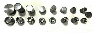Lot Of 17 Solid Rivet Sets Lockheed 1 4 Shank Pneumatic Squeezer Never Used