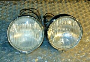 Jaguar 3 8 S Lucas Ft6 Back Mount Fog Lamp Set Work Well Very Clean And Nice S3