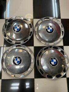 Bmw 1600 And 2002 Hubcap Set