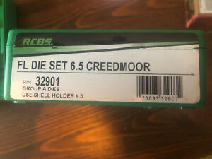 NIB RCBS 6.5 Creedmoor Die Set Full Length Ships Fast 32901 $66.99