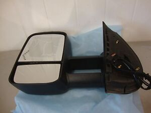 New 07 13 Chevy Silverado Gmc Sierra Truck Left Side Signal Towing Mirror